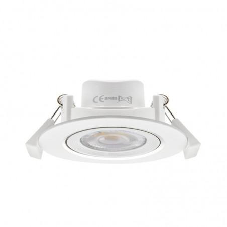 Foco Circular 45º Empotrable LED 7W