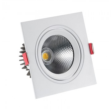 Foco LED Manhattan Cuad. 10W