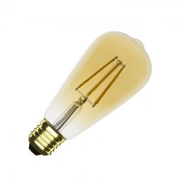Bombilla LED E27 Gold Big...