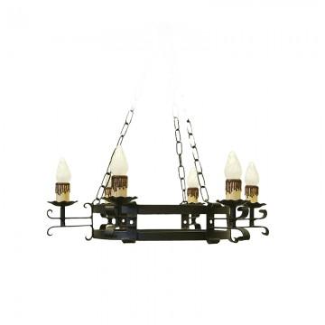 Lámpara Forja Alcántara 6 L